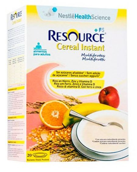 Nestlé Resource cereales Instant multifrutas 600g