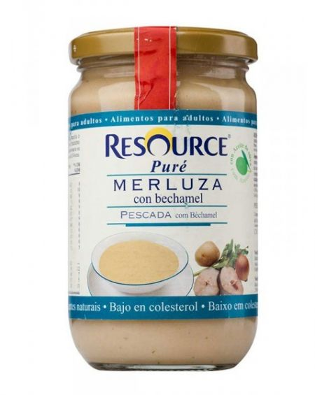 Nestlé Resource puré merluza 300 gr