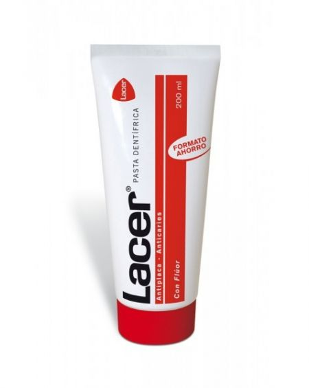 Pasta lacer con fluor 200 ml