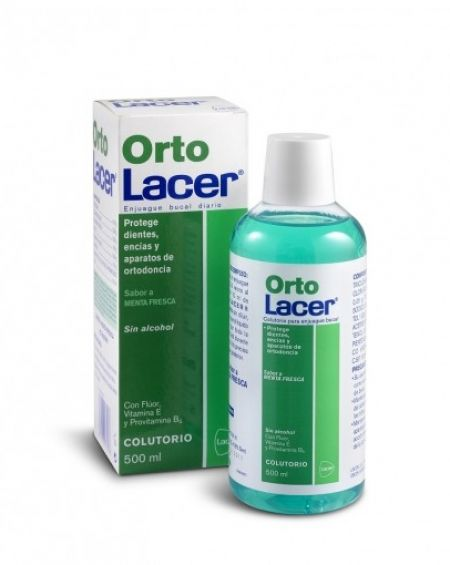 Ortolacer colutorio menta fresca 500 ml