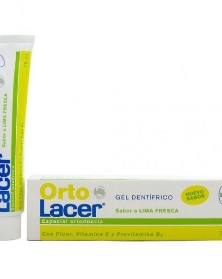 Ortolacer gel lima fresca 75 ml