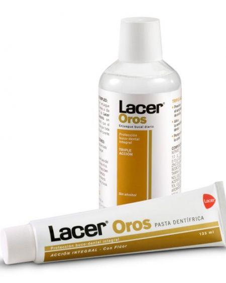 Lacer oros flúor pasta dentífrica 125 ml