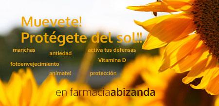 muevete y protegete del sol