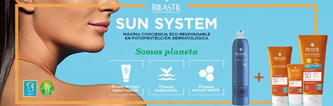 Promoción solares rilastil: regalo del after sun al comprar el solar rilastil sun system