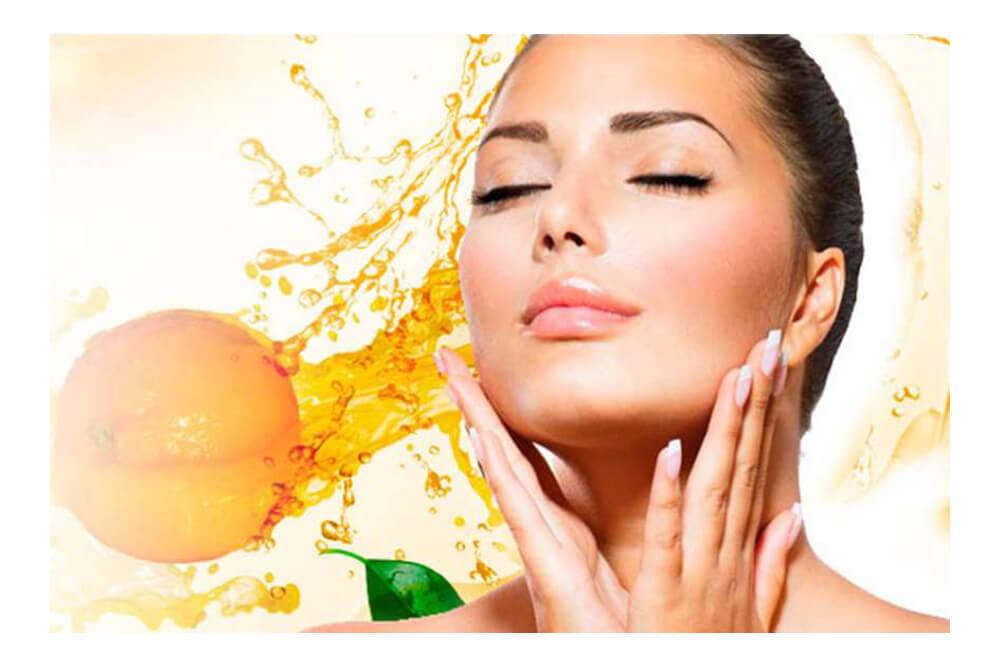 Vitamina C Cosmética facial antiedad