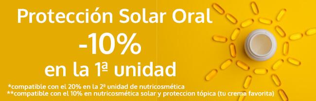 promoción protección solar oral