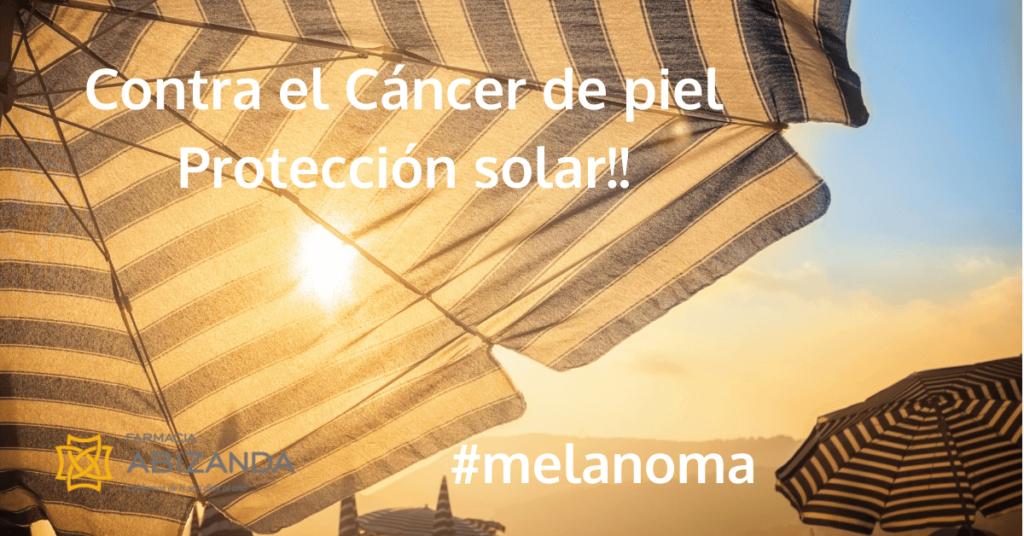 Contra el cáncer de piel protección solar en verano