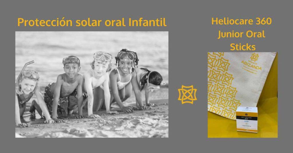 Comprar Heliocare 360 Junior protección solar oral al mejor precio en faramacia Abizanda